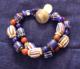 1800's venetian Chevrons 2 strand bracelet