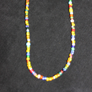 small ghana beads choker necklace